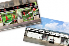 Banner - Roll up - Canvas Vetrofanie