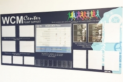 Cartelloni con tasche in plexiglass personalizzazione