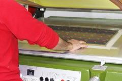 Macchina semiautomatica da stampa