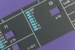 Stampa Serigrafica su policarbonato 2