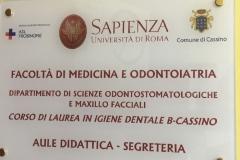 Targhe Professionali Pannello Cassino Frosinone
